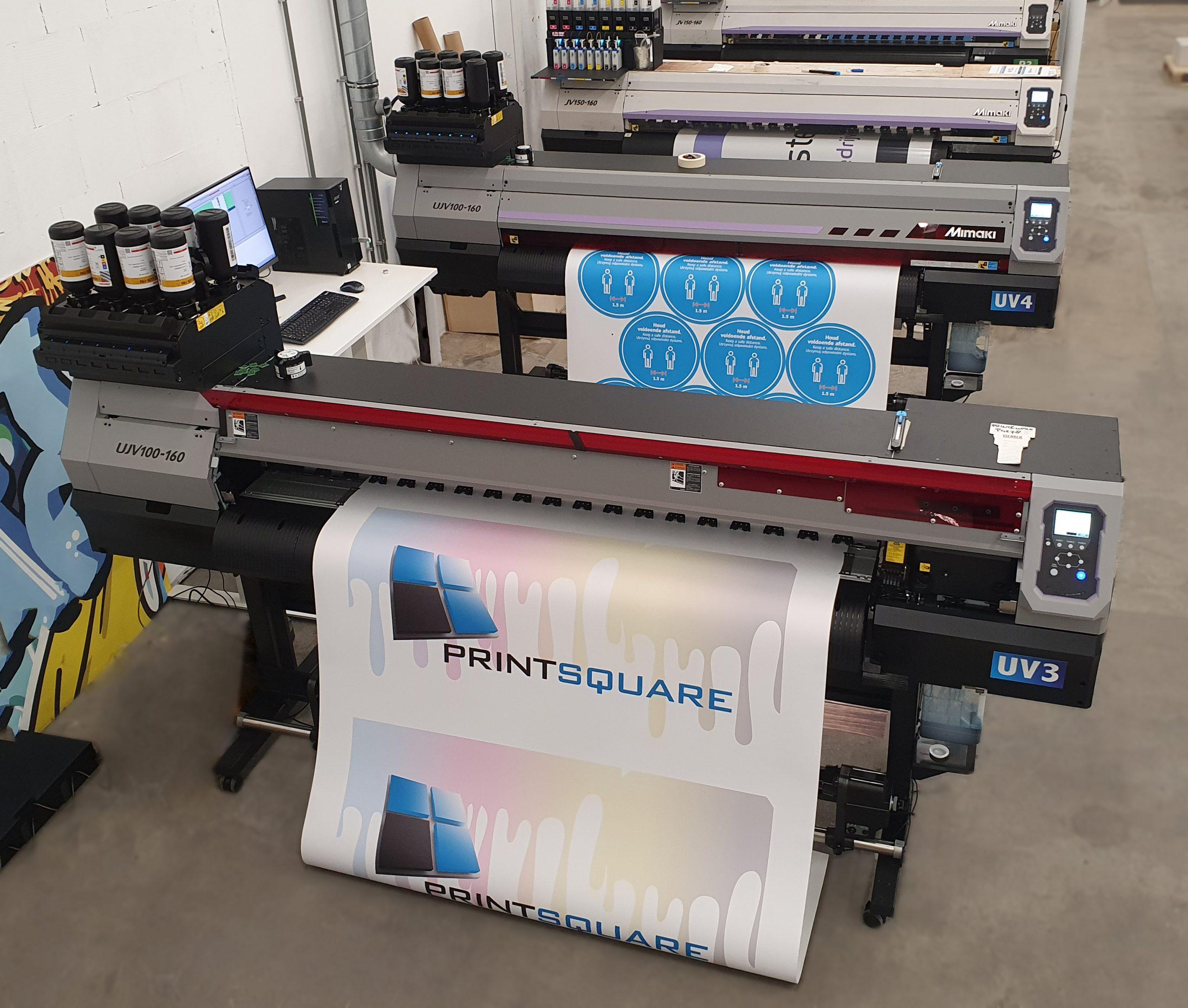 Twee extra UV-printers
